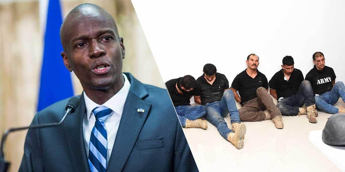 Exmilitares colombianos aceptaron responsabilidad en el asesinato del presidente de Haití