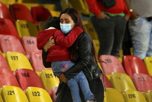 Triste imagen de lo que pasó en El Campín