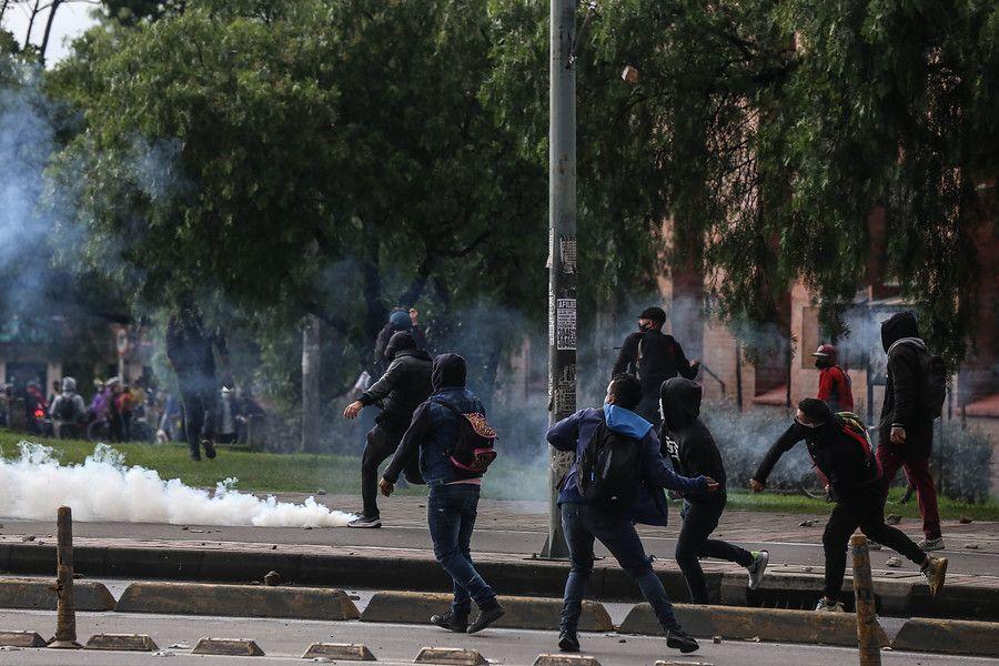70 mil pesos reciben quienes participan en los desmanes en Bogotá
