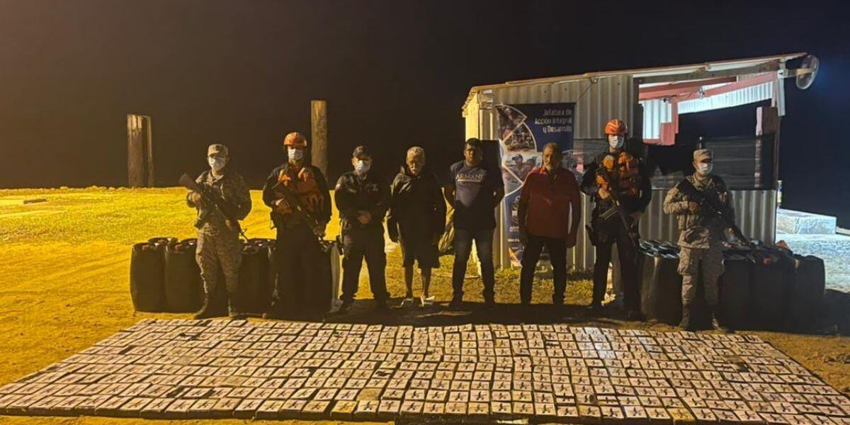 Incautan en la Guajira cargamento de cocaína avaluado en más de 13 millones de dólares