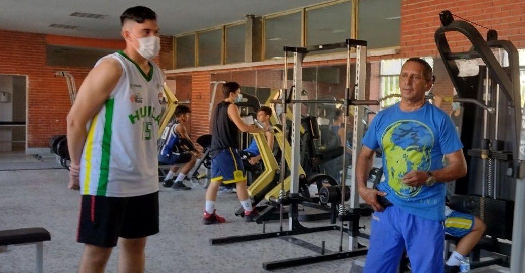 Janio Alberto Perdomo 34 años ´potenciando' deportistas de alto rendimiento