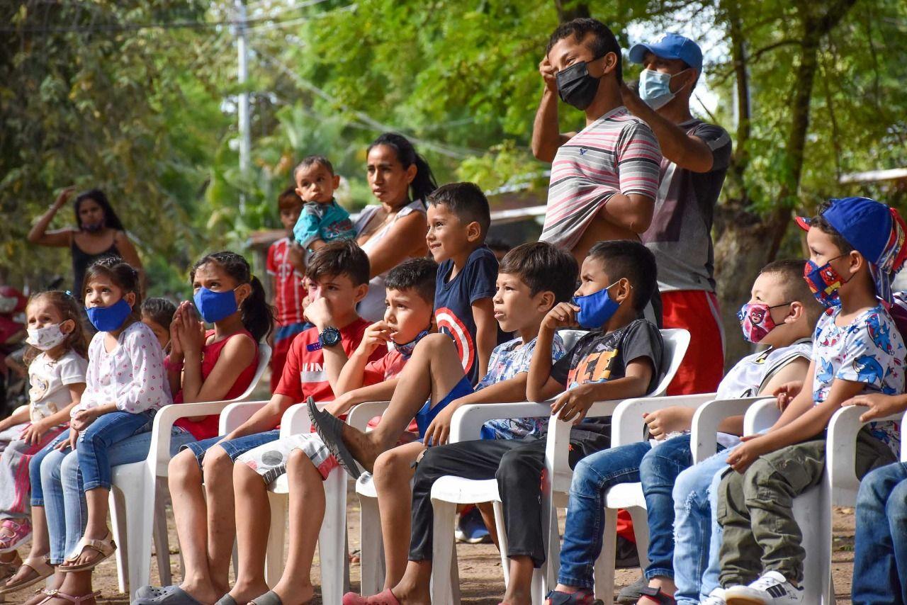 """Proyecto de Proyección Social"", lleva actividades de ocio a comunidades vulnerables de Neiva"
