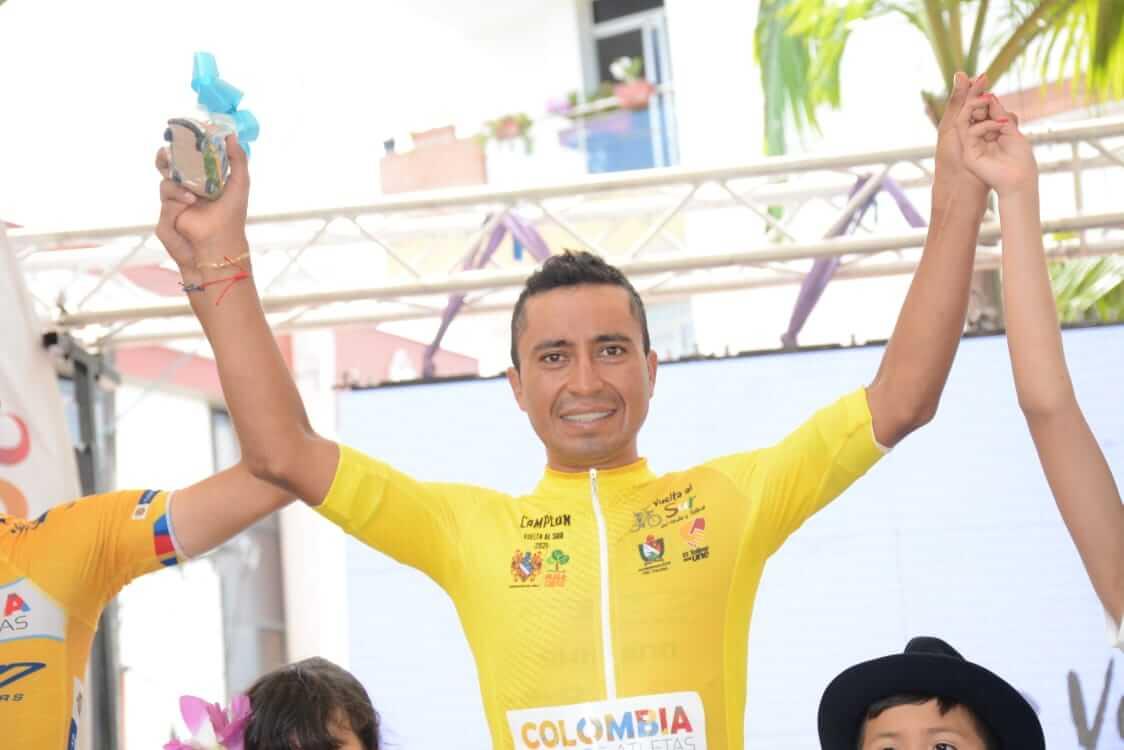 Darwin Atapuma campeón de la Vuelta al sur