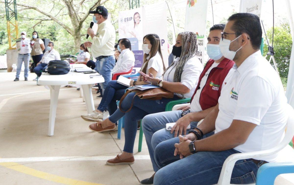 Priorizan necesidades de habitantes del Corregimiento Rio Ceibas