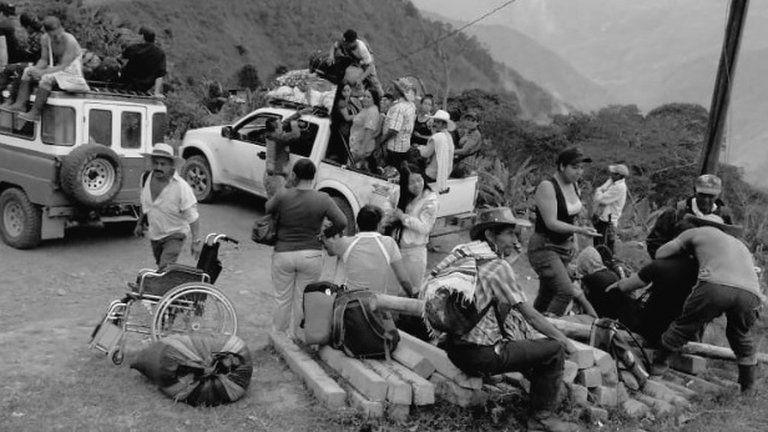 ONU asegura que más de 44.000 personas fueron desplazadas en Colombia