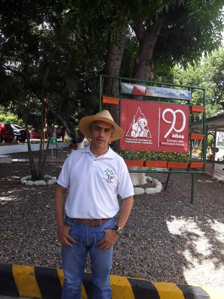 Ricardo López, desplazado, periodista y líder agropecuario