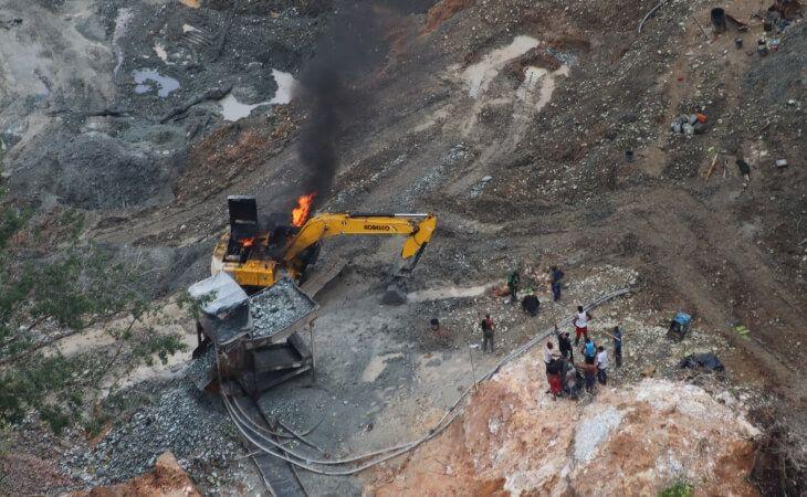 Antioquia: operativo contra minería ilegal deja un muerto