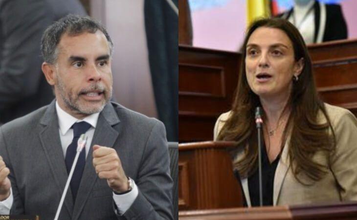 La exministra Abudinen y el Senador Benedetti se enfrentan por Centros Poblados