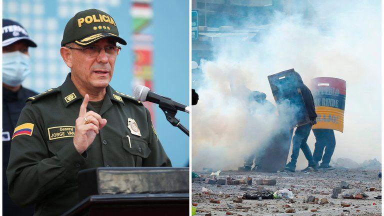 Policía revela nuevas pruebas que vincularían al ELN con actos vandálicos