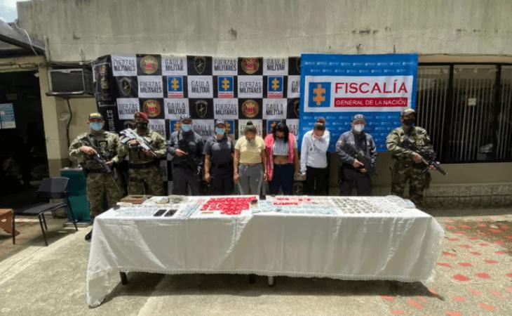 Caen 13 presuntos miembros del Clan del Golfo en Antioquia