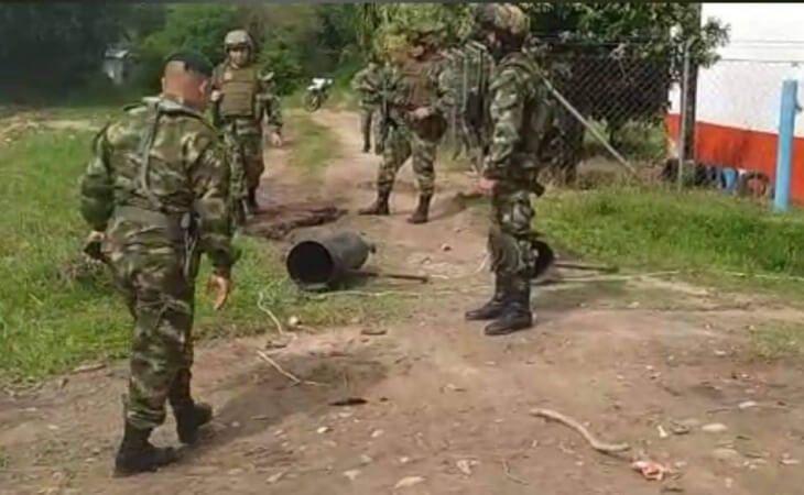Atentado con cilindro bomba en Arauca deja dos heridos