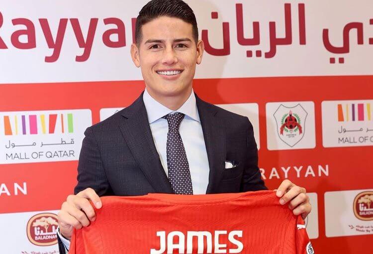Al-Rayyan no convoca a James para duelo por Liga