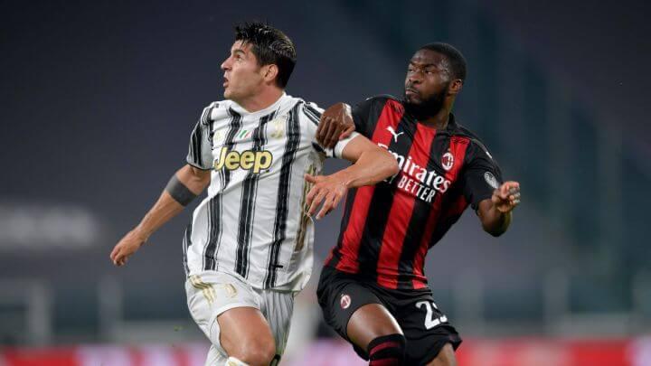 Juventus y Milan empataron