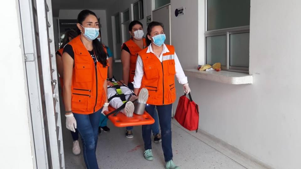 Huila participa en el Simulacro Nacional de Respuesta a Emergencias