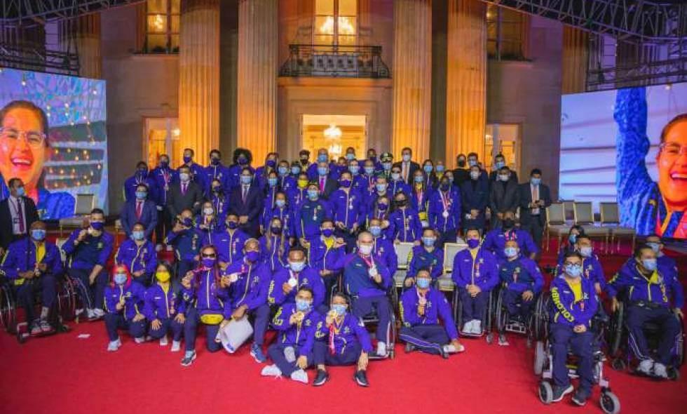 Medallistas paralímpicos de Tokio, recibieron incentivos por parte del Gobierno Nacional