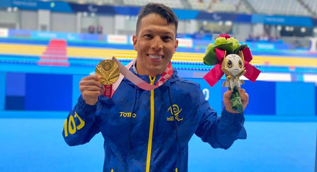 ¡Oro paralímpico para Colombia!