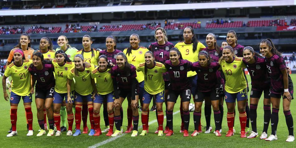Colombia cayó en amistoso con México