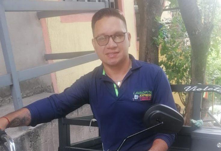De domiciliario a tener su propio negocio de Lavadoras Express