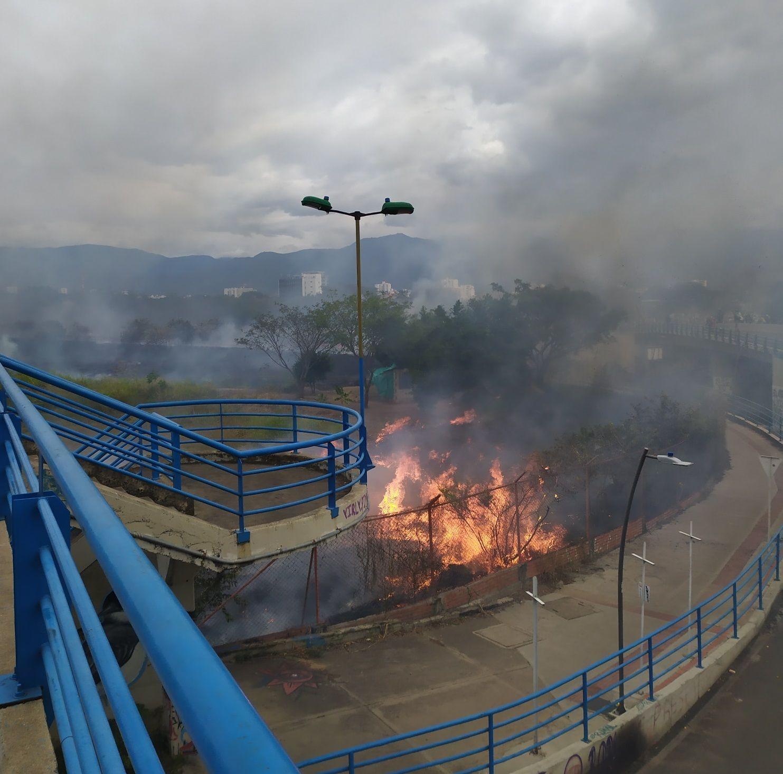 Incendio ocurrido en el Benito Salas dejó un capturado