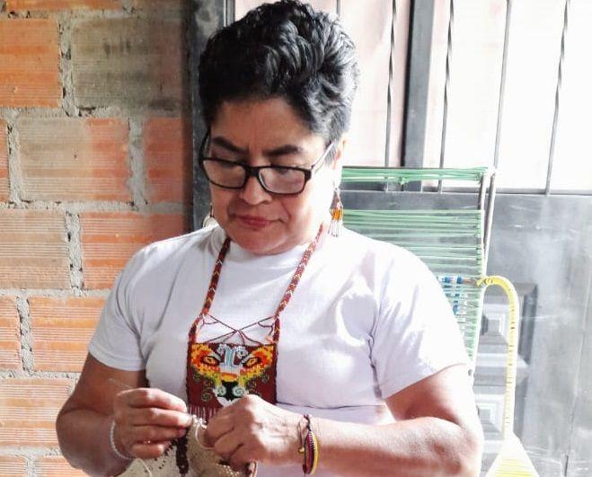 Rosalía, una mujer indígena y maestra artesana