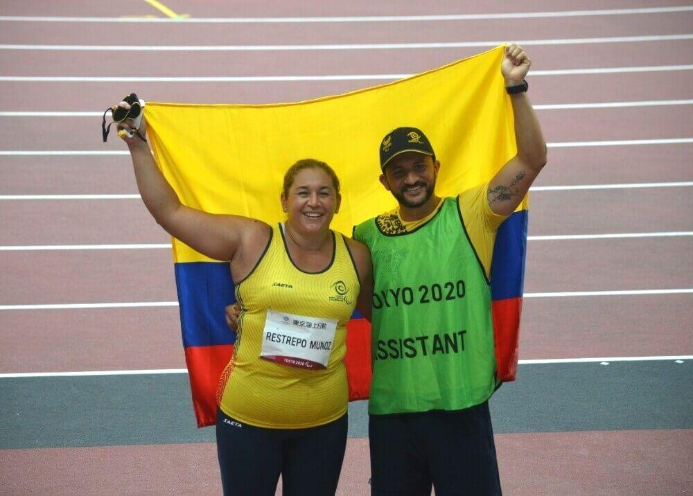 Yesenia Restrepo le dio una nueva medalla a Colombia en los Paralímpicos