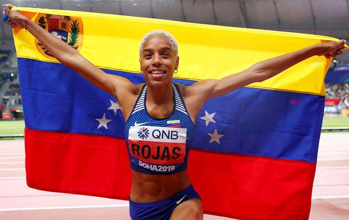 Oro para Yulimar Rojas la doble campeona mundial de triple salto